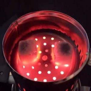 ذغال سرخ کن برقی سزار  مدل 220