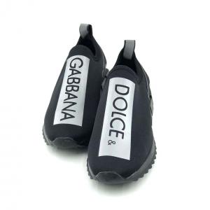 کفش اسپرت جورابی مردانه استیوالی مدل D&G (نارنجی)