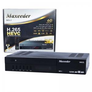 گیرنده دیجیتال مکسیدر مدل MX-3 3001JL