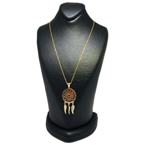 گردنبند طلا 18 عیار مانترا مدل