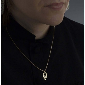 آویز گردنبند طلا 18 عیار گالری مانترا مدل N091