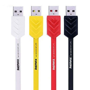 کابل تبدیل USB به microUSB ریمکس مدل Fishbone طول 1 متر