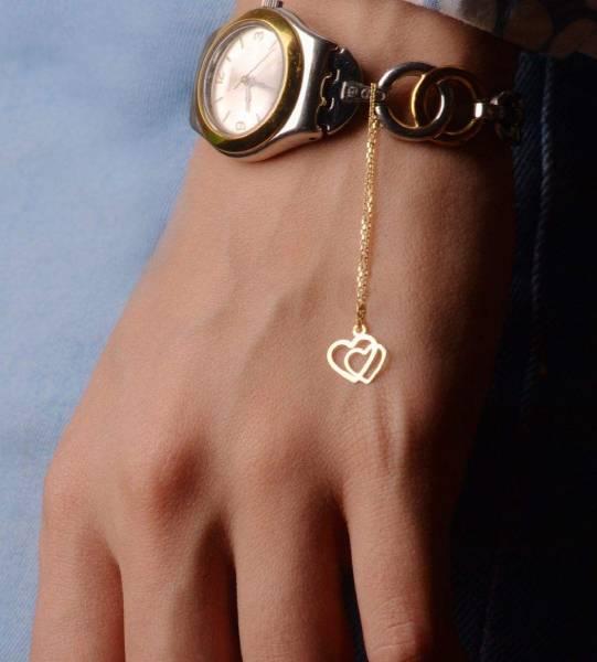 آویز ساعت طلا 18 عیار گالری مانترا مدل WP25