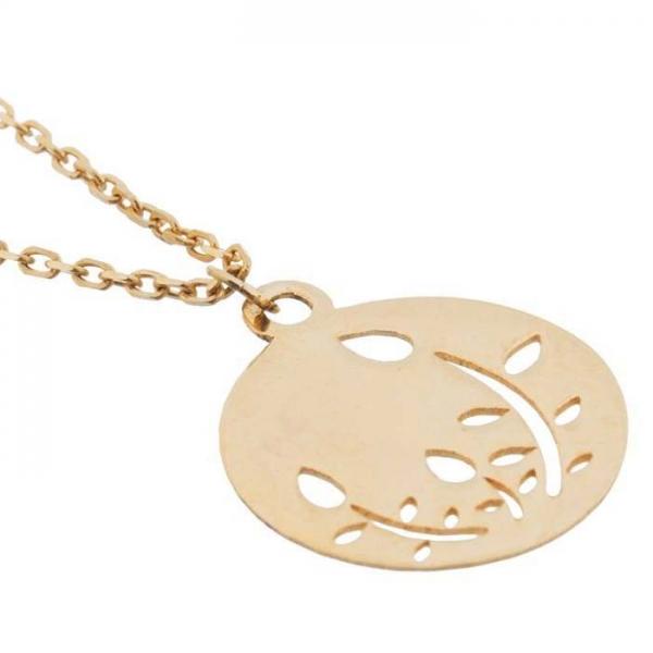 آویز ساعت طلا 18 عیار گالری مانترا مدل MW0163