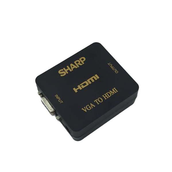 مبدل VGA به HDMI مدل SHARP