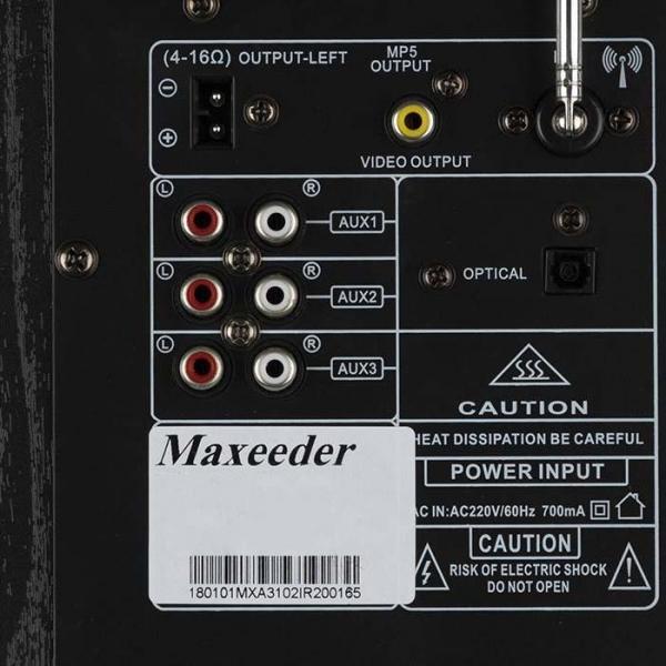 پخش کننده خانگی مکسیدر مدل RL 02