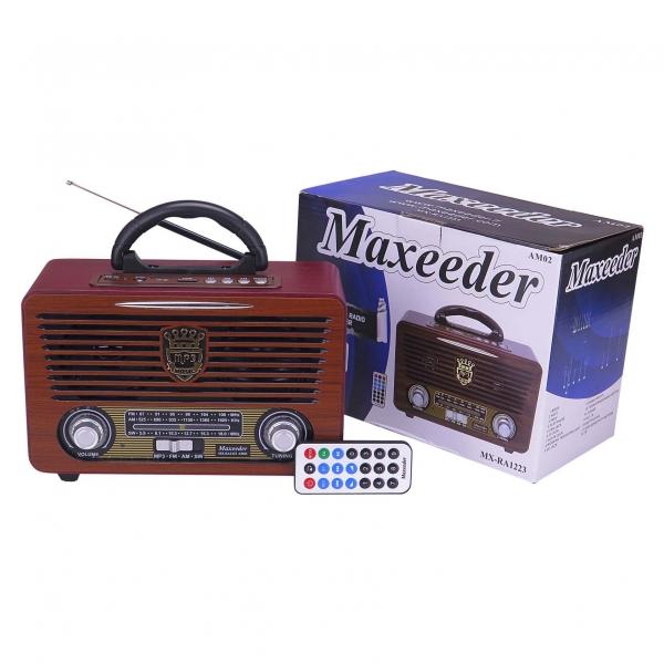 رادیو مکسیدر مدل MX-RA1223 AM02