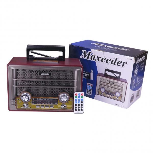 رادیو مکسیدر مدل MX-RA1224 AM06