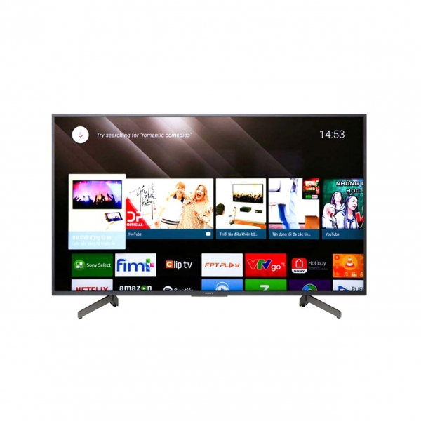 تلویزیون ال ای دی هوشمند سونی مدل KD-85X8000H سایز 85 اینچ