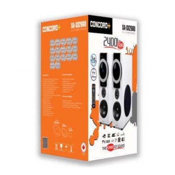 پخش کننده خانگی کنکورد پلاس مدل SA-SX2660