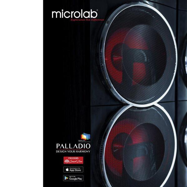 پخش کننده خانگی میکرولب مدل PALLADIO 8lll