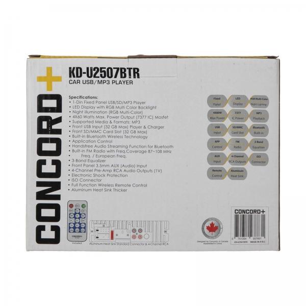 پخش کننده خودرو کنکورد پلاس مدل KD-U2507BTR