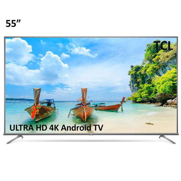 تلویزیون ال ای دی هوشمند تی سی ال مدل 55P8M سایز 55 اینچ