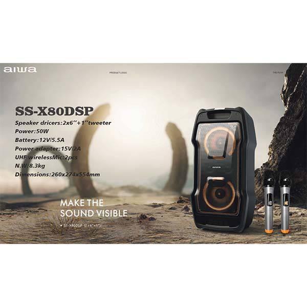 اسپیکر بلوتوثی آیوا مدل SS-X80DSP