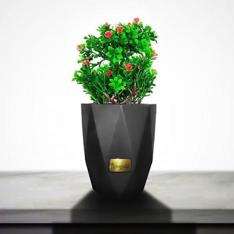 گلدان بتنی هشت ضلعی