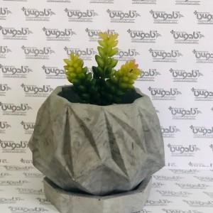 گلدان بتنی مدل نئون