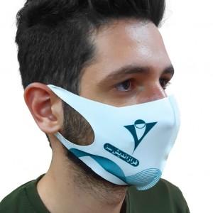 ماسک پارچه ای یک لایه یک طرف چاپ 200 عددی