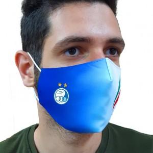 ماسک پارچه ای سه لایه چاپ لوگو روی کار تمام رنگی 200 عددی