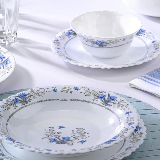 سرويس ٢٦ پارچه گلدن اپال مدل رمانتیک آبی