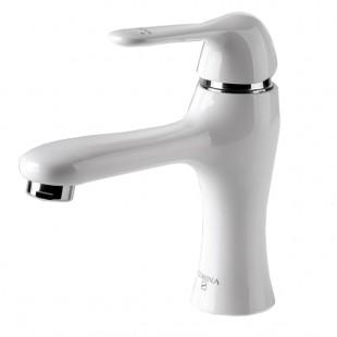 شير دستشویی نيلوفر سفید اِدرینا