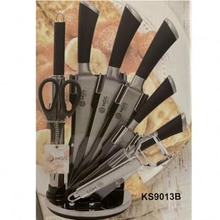 سرويس چاقو ٩ پارچه MGS مدل KS9013B