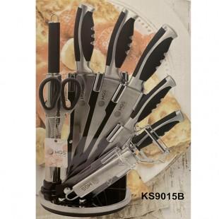 سرويس چاقو ٩ پارچه MGS مدل KS9015B