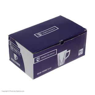 لیوان نوری تازه سری نیویورک مدل 550211W بسته 6 عددی