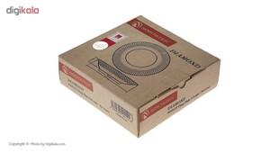 بشقاب خورش خوری نوری تازه سری دیاموند مدل 401012T بسته 6 عددی