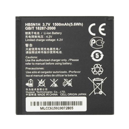 باتری موبایل مدل HB5N1H با ظرفیت 1500mAh مناسب برای گوشی موبایل هوآوی Y320/Y330