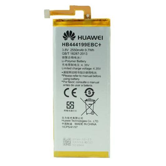 باتری موبایل مدل HB444199EBC با ظرفیت 2550mAh مناسب برای گوشی موبایل هوآوی 4c