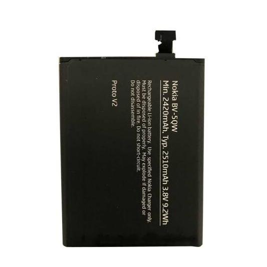 باتری مدل BV-5QW مناسب برای کوشی نوکیا لومیا 930