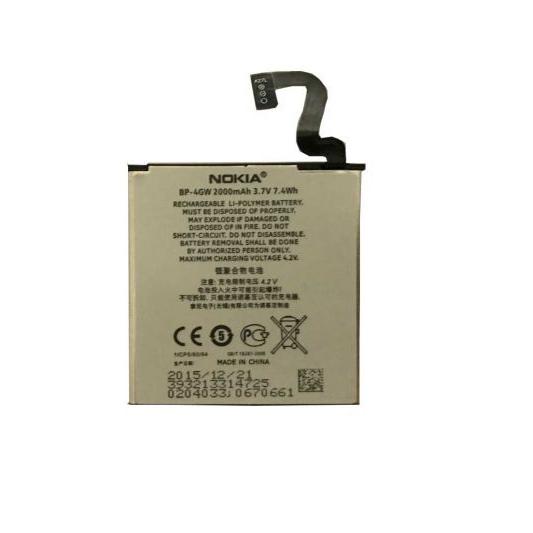 باتری مدل BP-4GW مناسب برای نوکیا لومیا 920