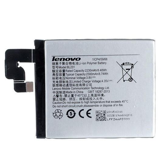 باتری موبایل مدل Bl-231 ظرفیت 2300 میلی آمپر ساعت مناسب برای گوشی Lenovo S90