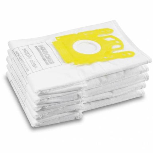 کیسه جاروبرقی کرشر مدل Fleece Filter bag بسته 5 عددی