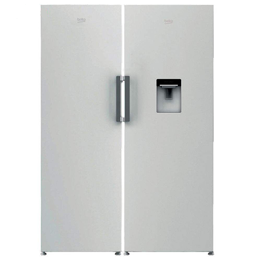 یخچال و فریزر دو قلو بکو مدل RSSE415M23DW-RFNE320L23W