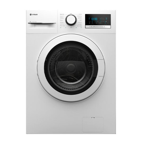 ماشین لباسشویی اسنوا مدل SWD-571W ظرفیت 8 کیلوگرم