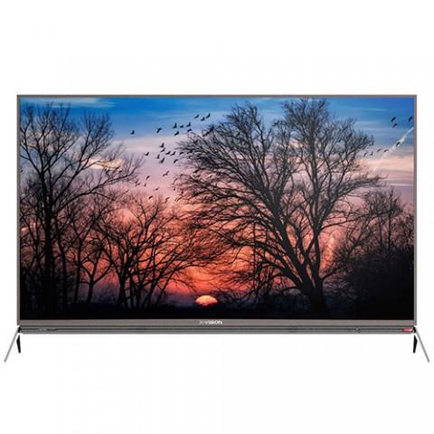 تلویزیون ال ای دی هوشمند ایکس ویژن مدل 65XKU635 سایز 65 اینچ