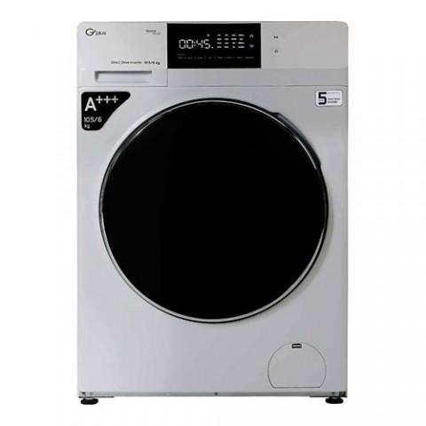 ماشین لباسشویی جی پلاس مدل GWM-KD1049S ظرفیت 10.5 کیلوگرم