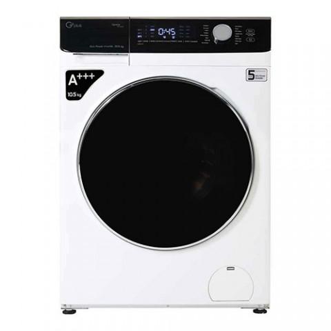 ماشین لباسشویی جی پلاس مدل GWM-K1048 ظرفیت 10.5 کیلوگرم