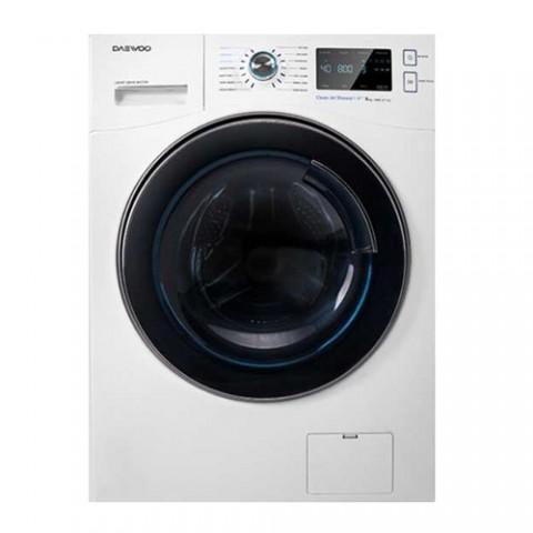 ماشین لباسشویی 8 کیلویی سفید دوو مدل DWK-8540