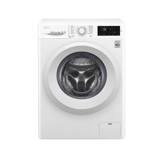 ماشین لباسشویی ال جی مدل WM-821 ظرفیت 8 کیلوگرم