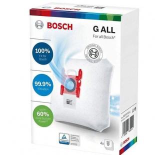 کیسه جاروبرقی بوش مدل GALL مناسب برای جاروبرقی های تایپ G,GXLL,GALLبسته 4 عددی
