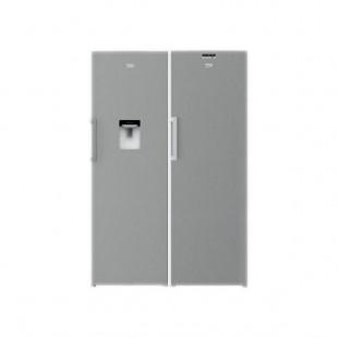 یخچال و فریزر دو قلوی بکو مدل RSNE415M23DX-RFNE320L23X