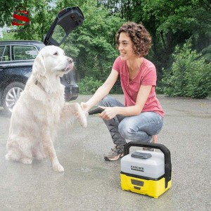 دستگاه شستشوی کرشر مدل OC3 pet box به همراه کیت پت شوی