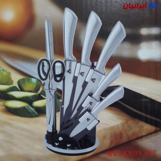 سرویس کارد 9 پارچه آشپزخانه مکس