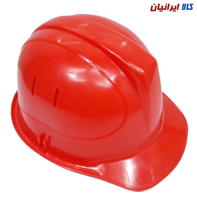 کلاه ایمنی رنگ قرمز
