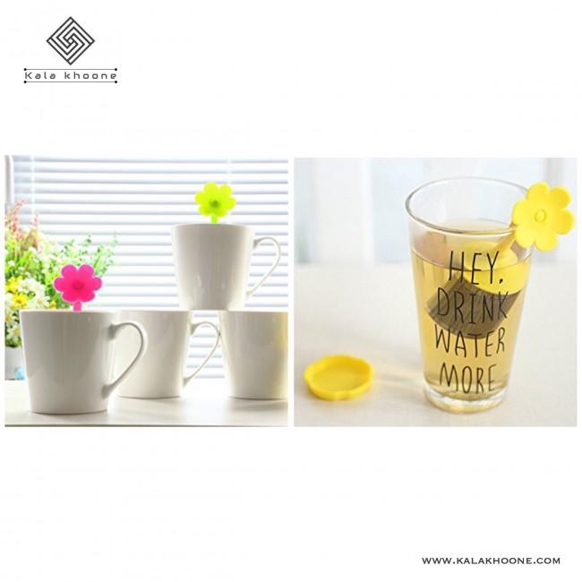 دمنوش و چای ساز طرح گل