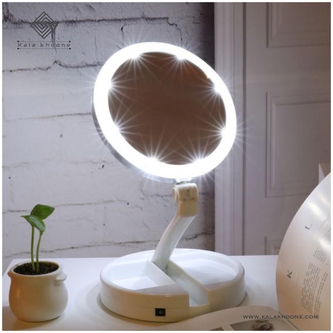 آینه آرایشی چراغدار