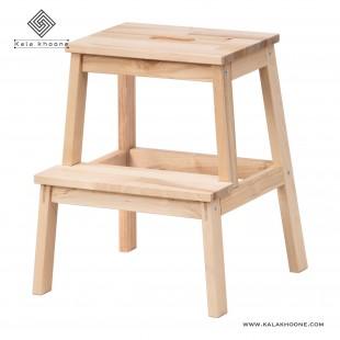 چهار پایه چوبی ایکیا مدل Bekvam