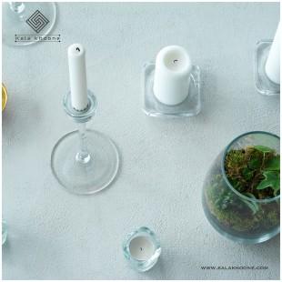 شمعدان سفید ایکیا مدل Blomster